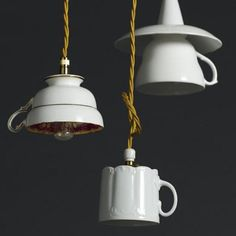 What a beautiful way to recycle tea cups!#teacakeco #teacups #recyclethings