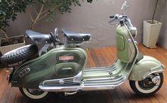 Moto #Siambreta 125 cc de lujo. Año 60. http://www.arcar.org/moto-siambreta-125-de-lujo-75141