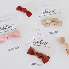 Our Leather Knot Clips are the perfect simple accessory for everyday! Made with genuine leather in 5 gorgeous easy to wear colors. Can't decide on which color? Buy more save more when you buy the entire collection! Discount has already been applied. Link is in our profile. And as always Free US Shipping on orders over $40 - no code needed!|| (you can find these in our shop. link in bio)  thehappynow