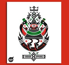Design Tshirts 2012-2013 by New Fren, via Behance
