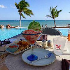 seafood Playa del Carmen beach resort