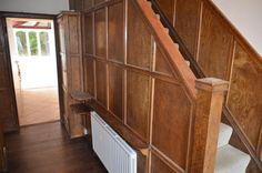 Original 1930s panelling in hallway