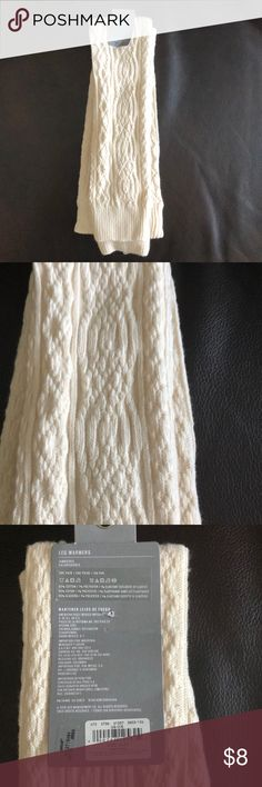 NWT Aerie Leg Warmers Thank you for checking out my Aerie Leg Warmers Liston!  - New With Tags - Cream White Color - Cable Knit pattern - One Size Fits Most  Reasonable Offers Welcome!  Any questions, Just ask! aerie Accessories Hosiery & Socks