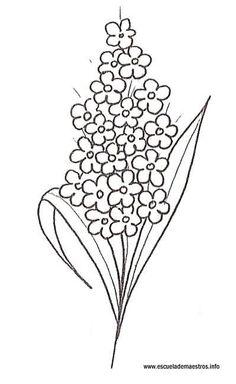 lilas dibujo - Buscar con Google