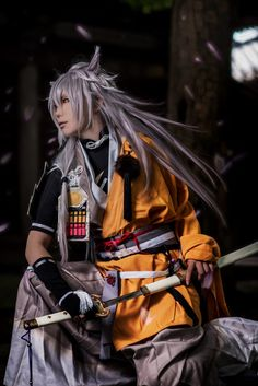 噛まれると痛いですよ。 - TEN Kogitsunemaru Cosplay Photo - WorldCosplay