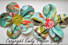 Embellished Flower tutorial (from Emily Taylor Design)