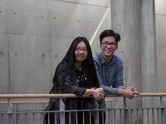 """""""Wenn ich eine Drei schreibe, finde ich das selbst nicht gut."""" Truc Quynh Tien Pham und Marcel Trung Hieu Do im Lichtenberger Barnim-Gymnasium. Nach den Sommerferien kommen sie in die zehnte Klasse."""