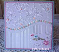 all occasions embossing folder cards - Google Search