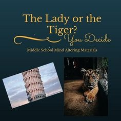 The Lady or The Tiger by Frank Stockton with Adapted Text ...