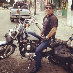 Met Biker Joe at a Cafeteria on W. Flagler Street in Little Havana (Miami, FL)