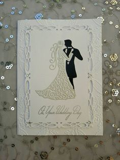 Check out this item in my Etsy shop https://www.etsy.com/au/listing/255134736/handmade-wedding-card-wedding-couple
