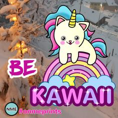 Live Life Kawaii and simply be CUTE! #onmeprints #quote #kawaii #cute #unicorn #adorable #hearts #love #unicorncat #cat #inspire #quote #dailyquote #cutenessoverload Unicorn Cat, Cute Unicorn, Holiday Cards, Christmas Cards, Kawaii Cat, Edge Design, Christmas Card Holders, Cute Designs, Happy Quotes
