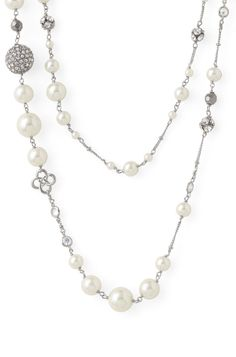 stella & dot - madeline pearl necklace