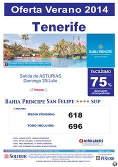 Tenerife: 75% Bahia Principe San Felipe salidas desde Asturias ultimo minuto - http://zocotours.com/tenerife-75-bahia-principe-san-felipe-salidas-desde-asturias-ultimo-minuto/