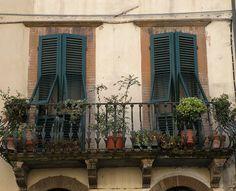 Tuscany balcony