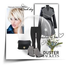 """""""So Cute Duster Jackets"""" by adorotic-1 ❤ liked on Polyvore featuring maurices and Kenneth Cole Reaction"""