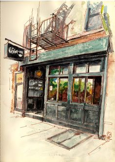 Urban Sketchers: Crown Heights