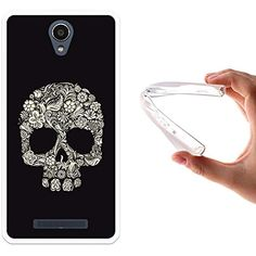 cover samsung note 2 teschio