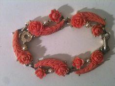 Vintage Bakelite Bracelet by IrmaJames on Etsy, $20.00