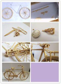 Bamboo bicycle, incredible!!!!!!!!