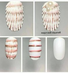 What Christmas manicure to choose for a festive mood - My Nails Nail Art Designs Videos, Diy Nail Designs, Diy Design, Sea Nails, Blue Nails, Seashell Nails, Nail Art Techniques, Mermaid Nails, Nagel Gel