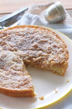 cinnamon maple gooey butter cake
