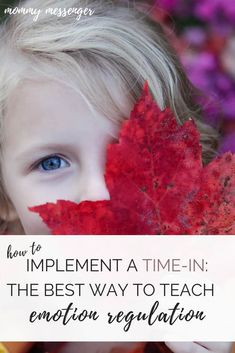 Kids behavior - How to Implement a TimeIn The Best Way to Teach Emotion Regulation – Kids behavior Toddler Chores, Toddler Behavior, Peaceful Parenting, Gentle Parenting, Parenting Books, Parenting Advice, Positive Discipline, Kids Discipline, Emotions Preschool