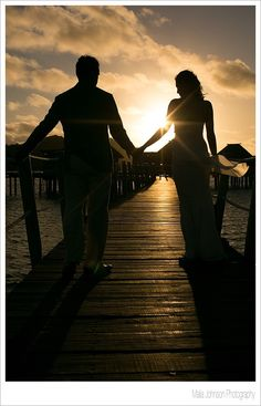 Wedding at sunset, Fiji?  Perfect?  Yep, we think so too.. #Fiji #Weddings