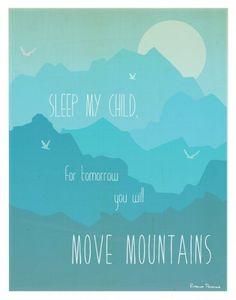 Move Mountains by Rebecca Peragine of Children Inspire Design