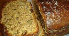 Bettys Cuisine: Cake with tahini, walnuts and raisins Baking Business, Arabic Food, Tahini, Banana Bread, Favorite Recipes, Sweets, Desserts, Cakes, Recipes