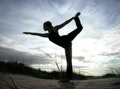 Yoga outdoors? Yes please.