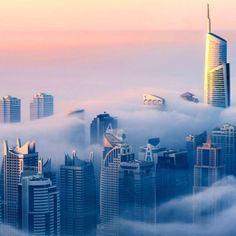 La Ciudad de las Nubes: Dubai, fotografiado desde el piso 85