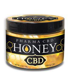CBD oil and Honey! #cbdoil #cbd #cannabidiol #hemp #food