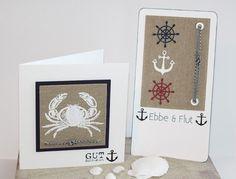 Hallo Ihr Lieben, das Motto zur aktuellen Challenge des Steckenpferdchens lautet diesmal: Ichzeige Euchdazu einen Gutschein für einen Trip ans Meer: Schablone für die Krabbe bekommt Ihr bei Uschi.
