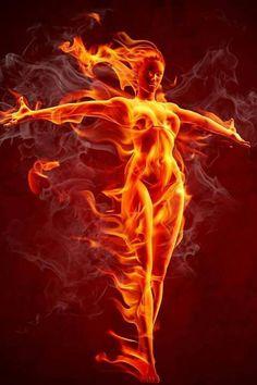 Fiery gal