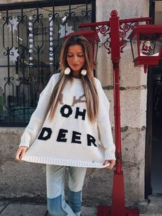 Oh Deer, Winter Hats, Girls, Fashion, Nightgown, Toddler Girls, Moda, Daughters, Fashion Styles