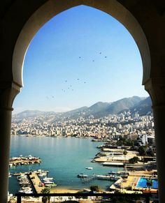 Picture perfect Jounieh bay, Lebanon