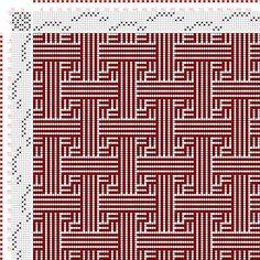 Weaving Draft Page 161, Figure 4, Orimono soshiki hen [Textile System], Yoshida, Kiju, Japan, 1903, #50007