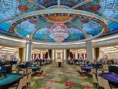 Galaxy Cotai Hotel & Casino | Casinos Interior Design. Contract Furniture. Hospitality. #bestcasino #interiordesign #contractfurniture | Find more inspiration at brabbucontract.com/