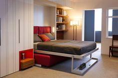 Jurnal de design interior  Garsonieră de 30 m² amenajată cu mobilier multifuncțional