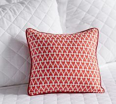 Heart Print Pillow Cover #potterybarn