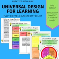 "What is UDL?: Universal Design for learning is defined by the udl.gov website as ""The term UNIVERSAL DESIGN FOR LEARNING means a scientifically valid framework for guiding educational practice that: (A) provides flexibility in the ways information is pres"