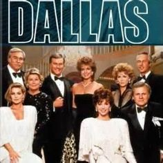 "Dallas   -  (TV show) I was addicted to this.  I rememer when JR got shot the first time.  I was in High School and a lot of the kids were wearing T-shirts that said ""I shot JR."" Good times."