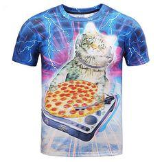 c1730e50d99d Cat Lovers Graphic T Shirts – CatLoversParadise101  MensT-shirts T Shirt 3d