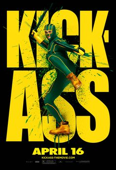 High resolution official theatrical movie poster ( of for Kick-Ass Image dimensions: 2057 x Directed by Matthew Vaughn. Top Movies, Movies And Tv Shows, Cult Movies, Roman, Short Jokes, Marvel E Dc, Keys Art, Superhero Movies, Digital Illustration
