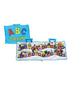 Language and Fine Motor,  $19.99  -Take a look at this ABC Express Train Plush Book by Alma's Designs on #zulily today!
