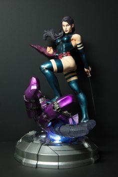 Kotobukiya Marvel Comics Fine Art Statue: Psylock Danger Room Sessions