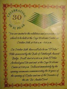 El Pilar 30th Anniversary Celebration