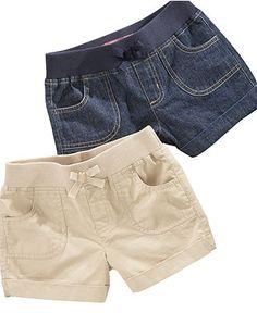 Denim. Skirts For Kids, Short Jeans, Kids Shorts, Shorts Online, Manish, Sport Wear, Jean Shorts, Baby Kids, Little Girls