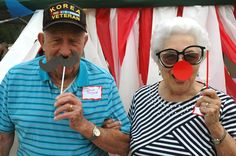 """David and Beverly Bryant, residents of one of our patio home communities, had a great time at the resident appreciation """"carnival"""" event last Friday!"""